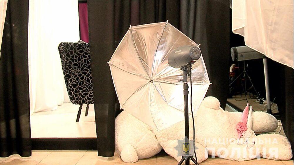 Під виглядом модельної студії біля Вінниці знімали дитяче порно
