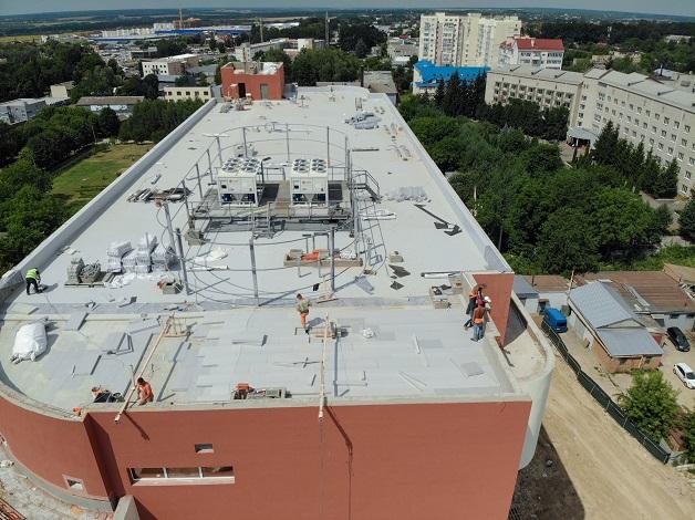 Будівництво Вінницького кардіоцентру виконано на 35%, - Моргунов