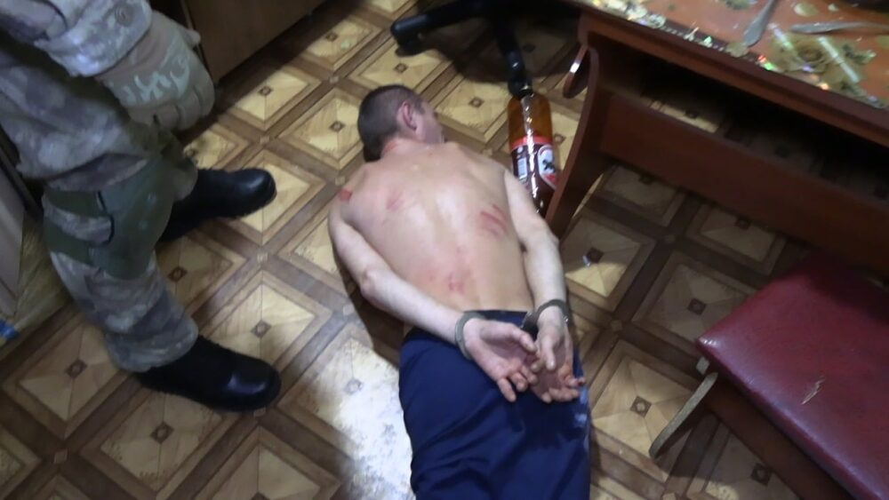 У Вінниці після перемовин затримали чоловіка, який погрожував підірвати свою родину