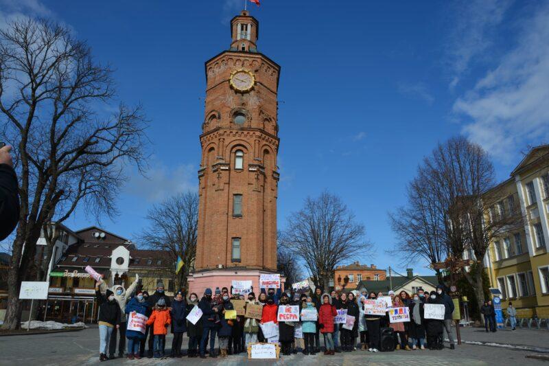 У Вінниці провели акцію приурочену до 8 березня
