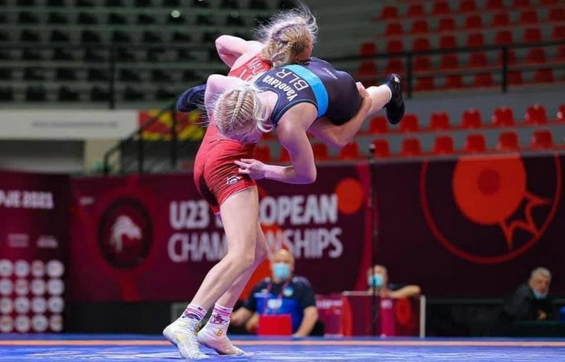 Вінницька борчиня стала призеркою Чемпіонату Європи