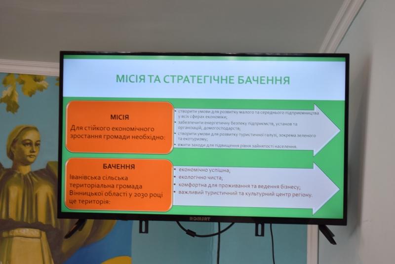 """""""Стратегію-2030"""" ухвалено в Іванівській громаді"""