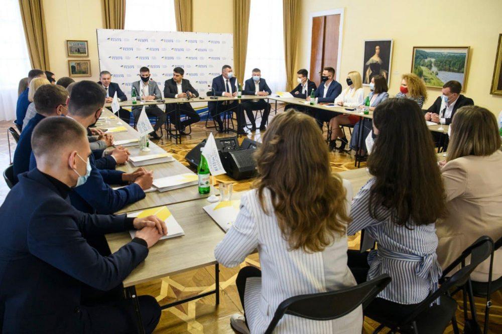 Володимир Гройсман: Особливе місце в нашій партії віддаємо молоді